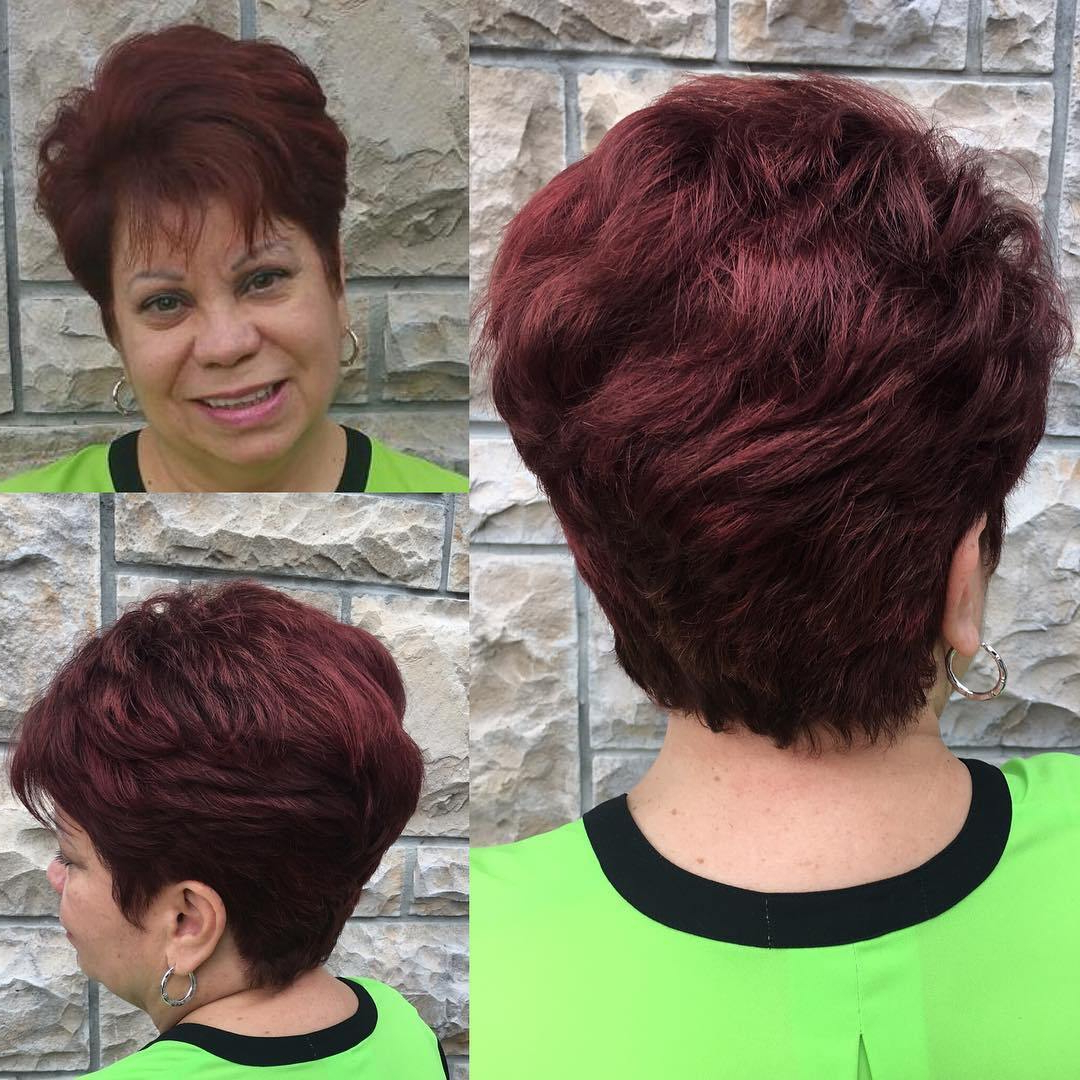 80 Classy And Simple Short Hairstyles For Women Over 50 – Page 21 In Short And Simple Hairstyles For Women Over 50 (Gallery 5 of 20)