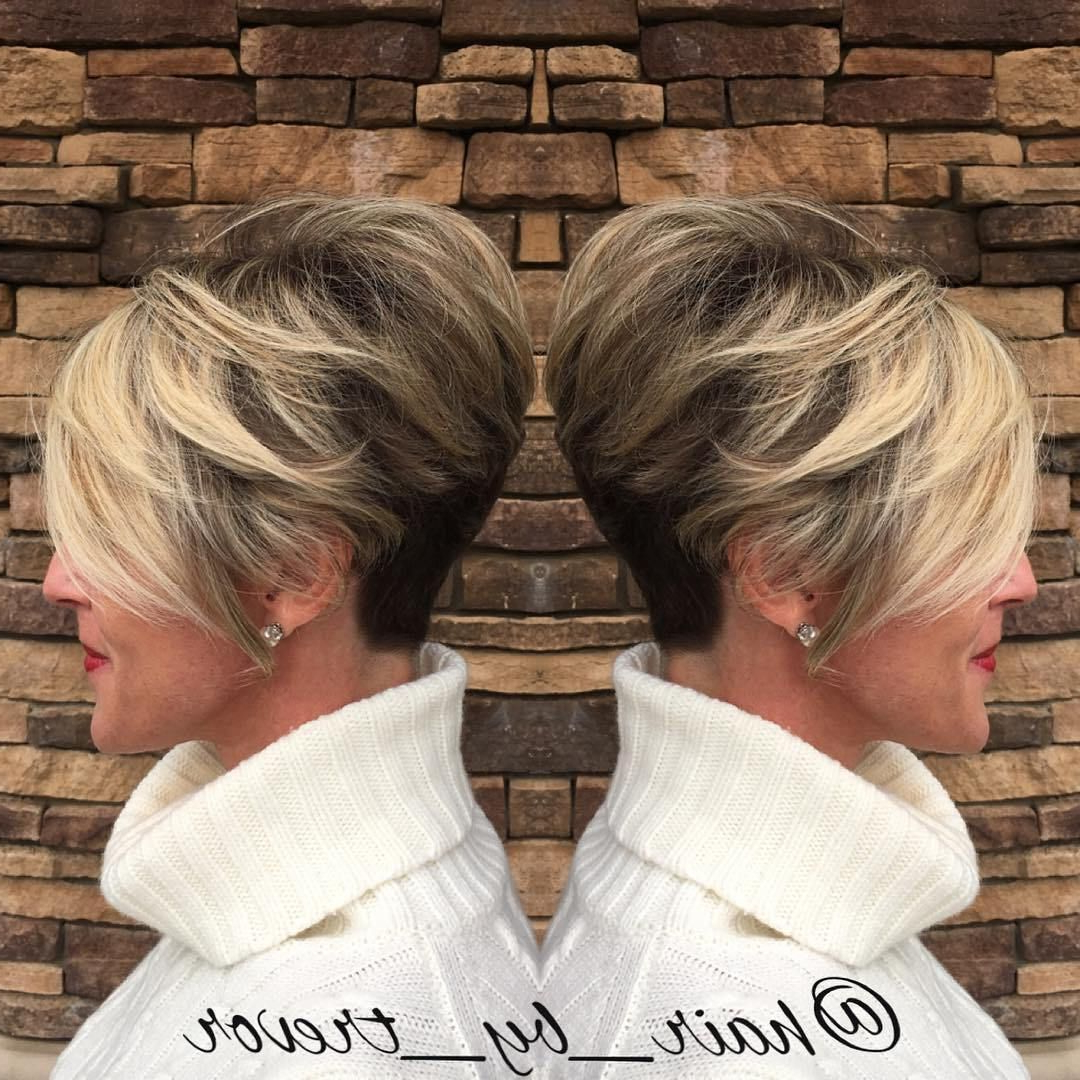 90 Classy And Simple Short Hairstyles For Women Over 50 | Hair Style Intended For Voluminous Two Tone Haircuts (View 5 of 20)