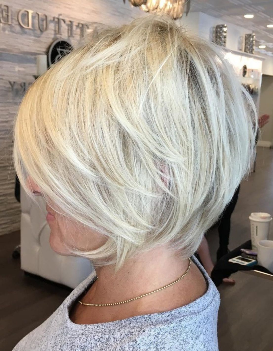 90 Classy And Simple Short Hairstyles For Women Over 50 In 2018 Inside Airy Gray Pixie Hairstyles With Lots Of Layers (View 6 of 20)