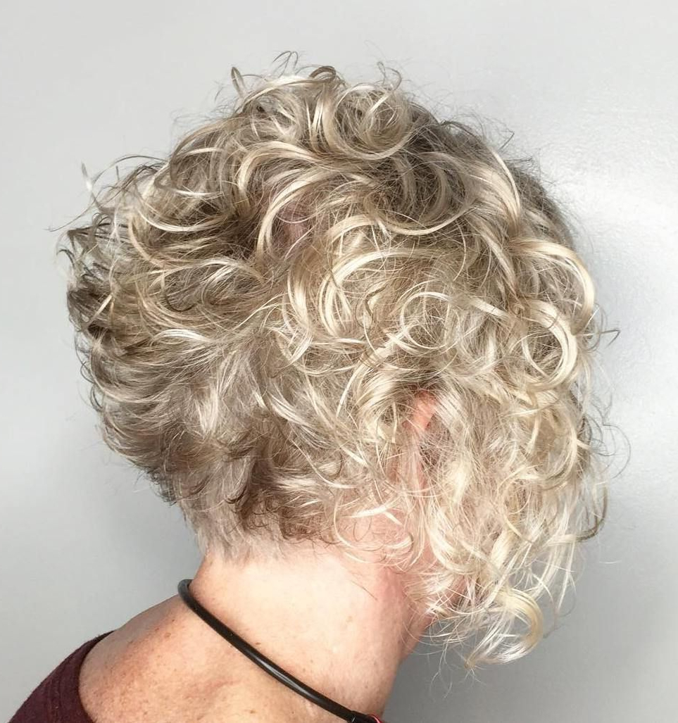 90 Classy And Simple Short Hairstyles For Women Over 50 In 2018 Intended For Short Ruffled Hairstyles With Blonde Highlights (Gallery 17 of 20)