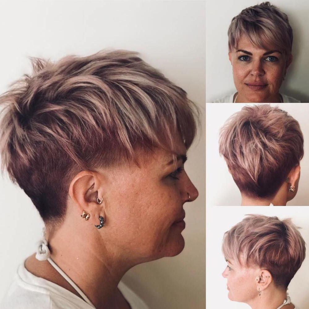 90 Classy And Simple Short Hairstyles For Women Over 50 In 2018 Pertaining To Pixie Undercut Hairstyles For Women Over (View 15 of 20)