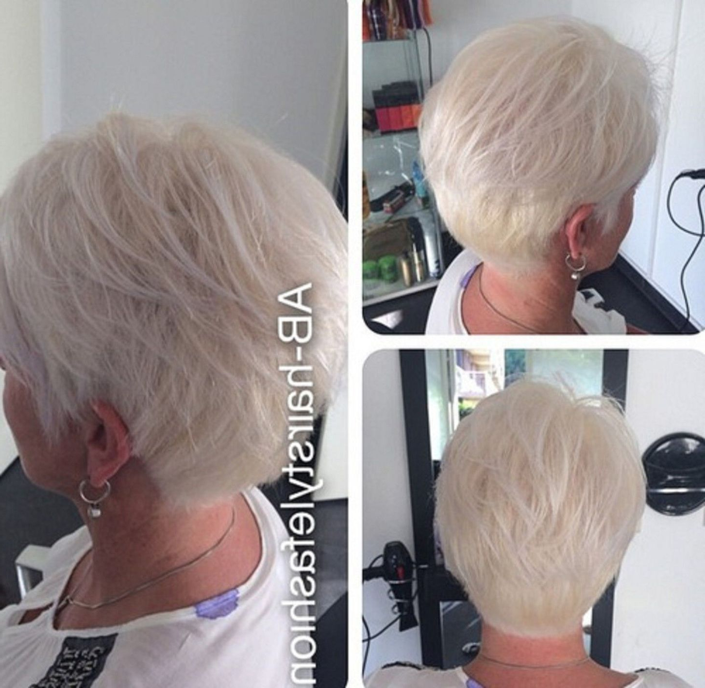 90 Classy And Simple Short Hairstyles For Women Over 50 In 2018 Regarding Oluminous Classic Haircuts (View 13 of 20)