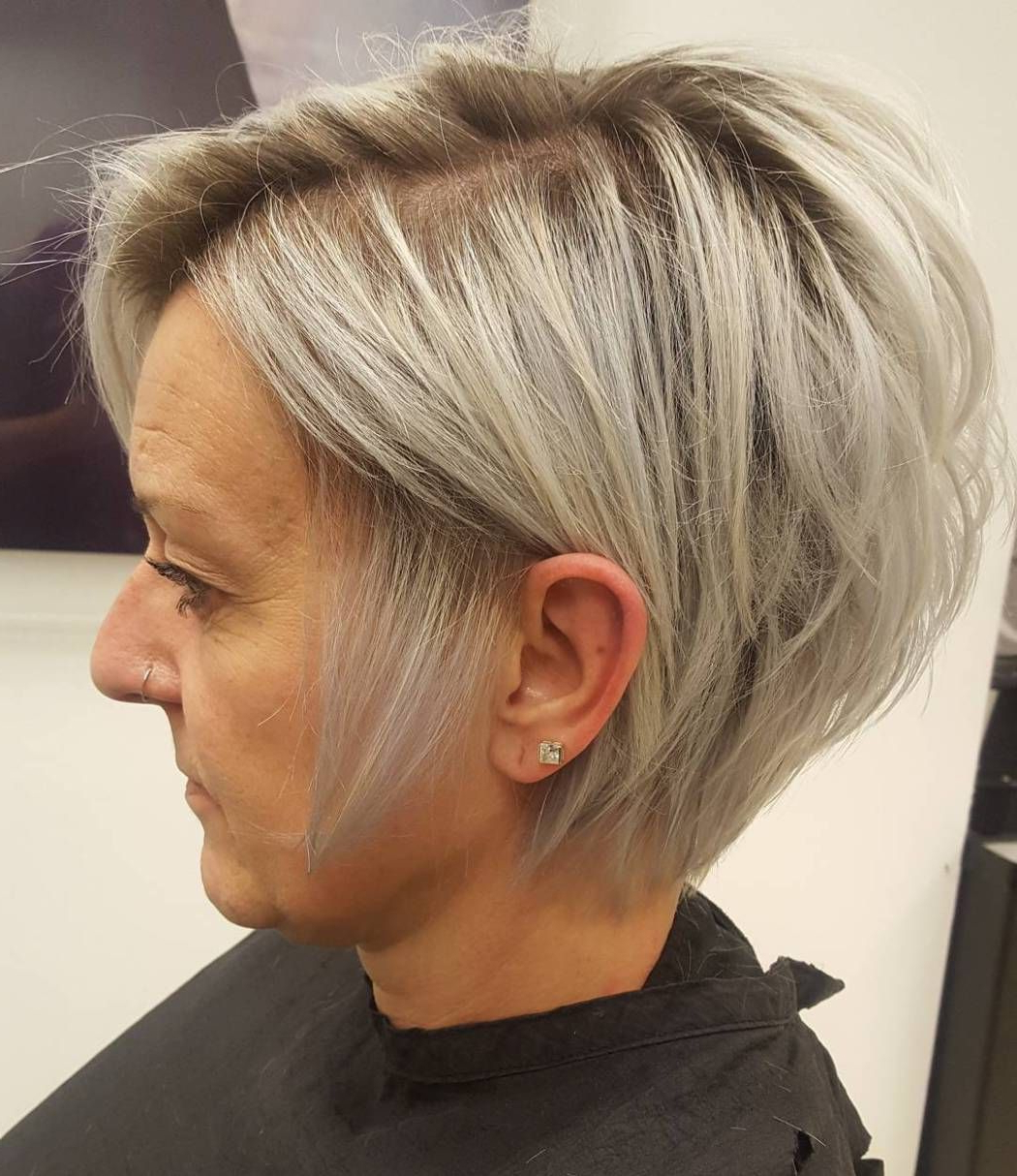 90 Classy And Simple Short Hairstyles For Women Over 50 In 2018 Within Blonde Pixie Haircuts For Women 50+ (Gallery 3 of 20)