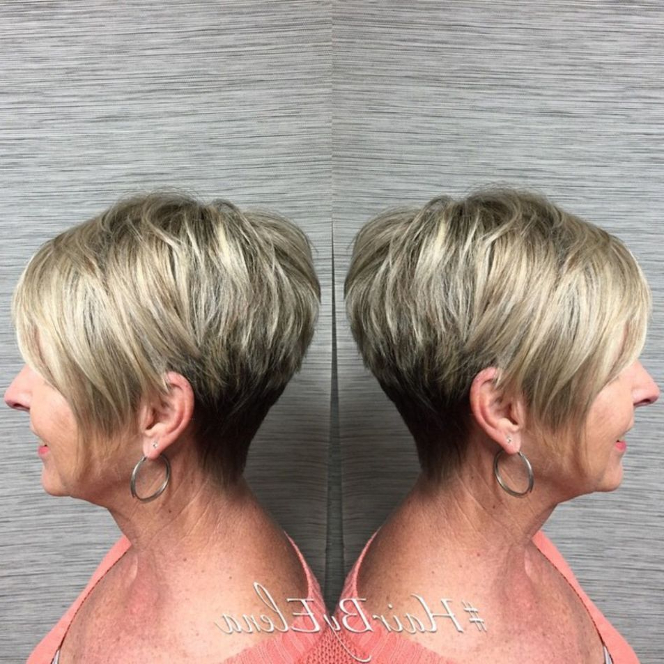 90 Classy And Simple Short Hairstyles For Women Over 50 | Pixie Bob Pertaining To Pixie Bob Hairstyles With Soft Blonde Highlights (Gallery 3 of 20)