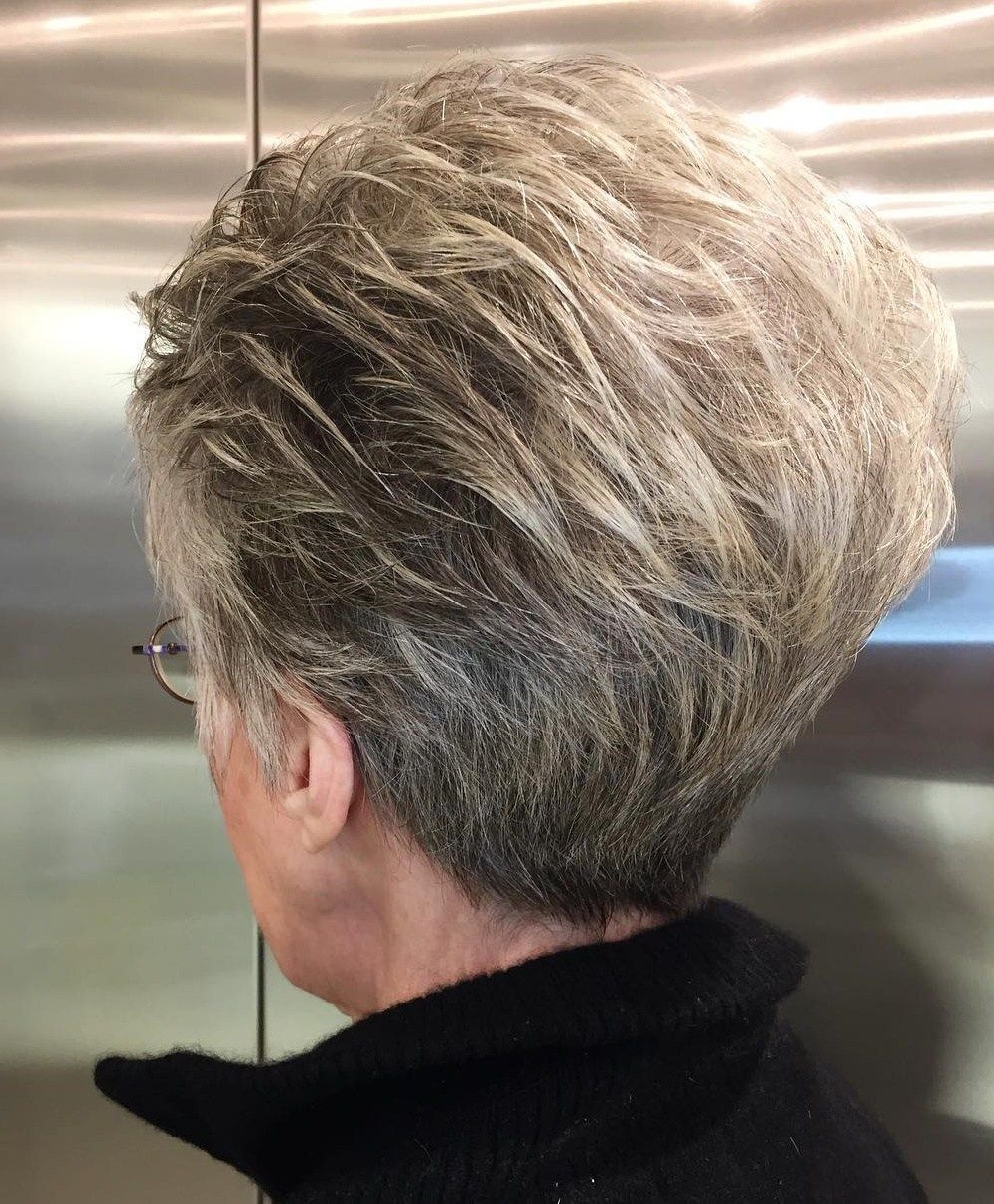 90 Classy And Simple Short Hairstyles For Women Over 50 | Pixies Inside Short Voluminous Feathered Hairstyles (Gallery 14 of 20)