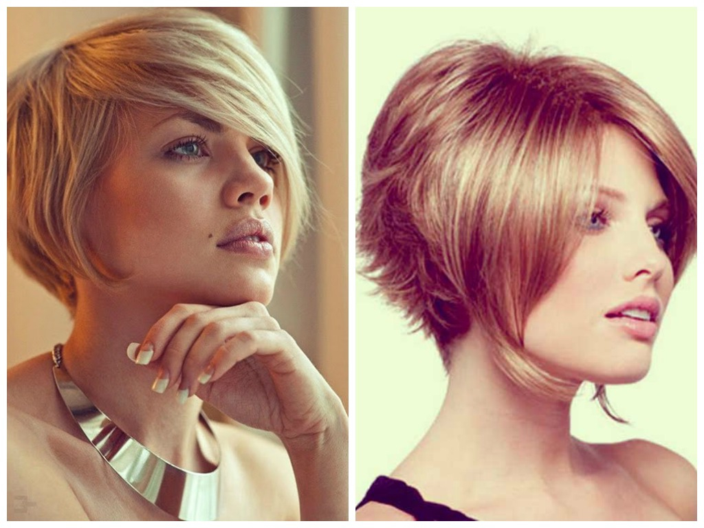 A Selection Of Short Inverted Bob Haircuts – Hair World Magazine Inside Stacked Bob Hairstyles With Bangs (View 3 of 20)