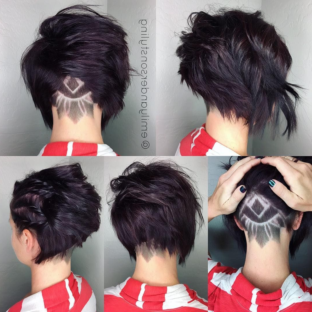 All Sizes | Emilyandersonstyling | Flickr – Photo Sharing! | Hair As Inside Pixie Bob Hairstyles With Nape Undercut (View 10 of 20)