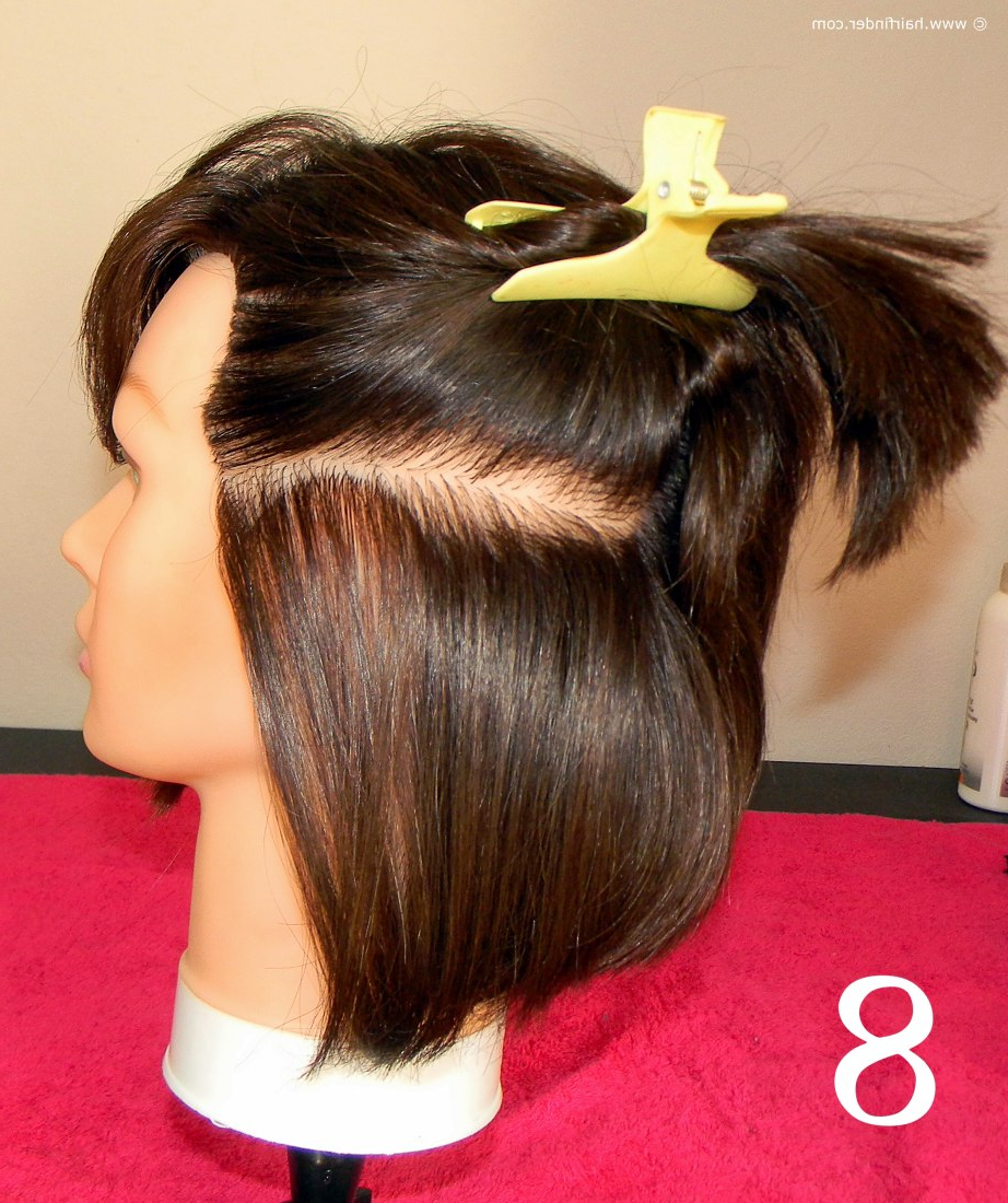 Angled Bob With A Faux Side Undercut Throughout Angled Undercut Hairstyles (View 14 of 20)