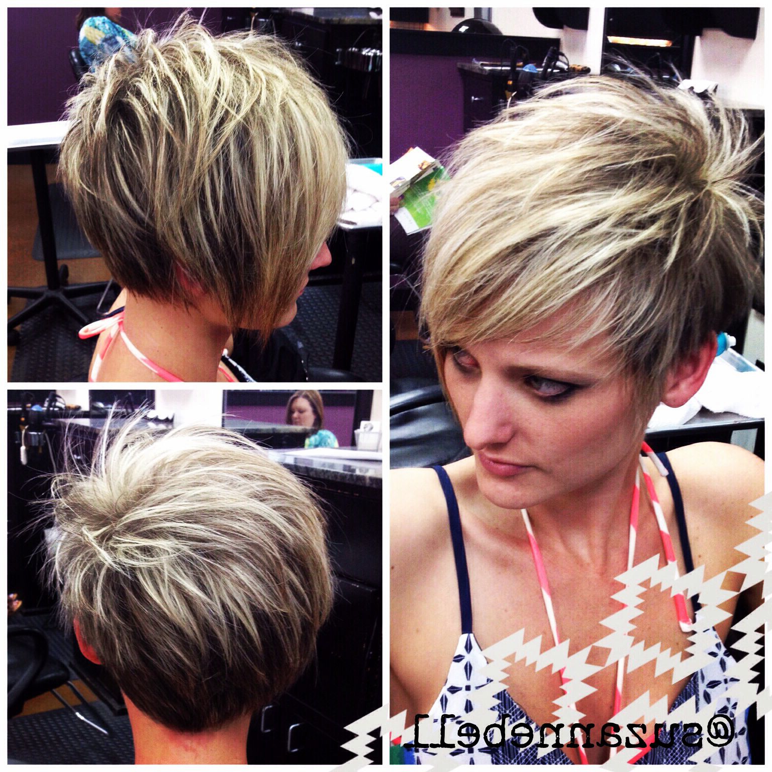 Asymmetrical Pixie | H & B | Pinterest | Cabello, Cabello Cortito With Asymmetrical Pixie Bob Hairstyles (Gallery 5 of 20)