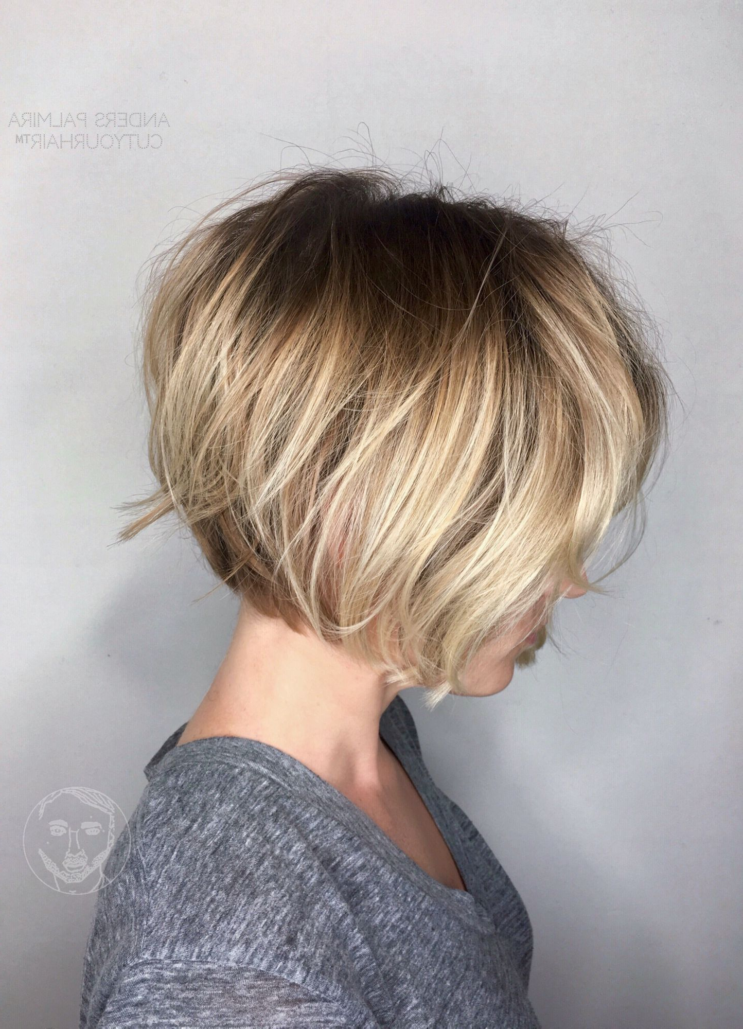 Aveda Wavy Long Blonde Bob Short Hair Beach Wave Medium Ideas Lob With Short Ruffled Hairstyles With Blonde Highlights (View 7 of 20)