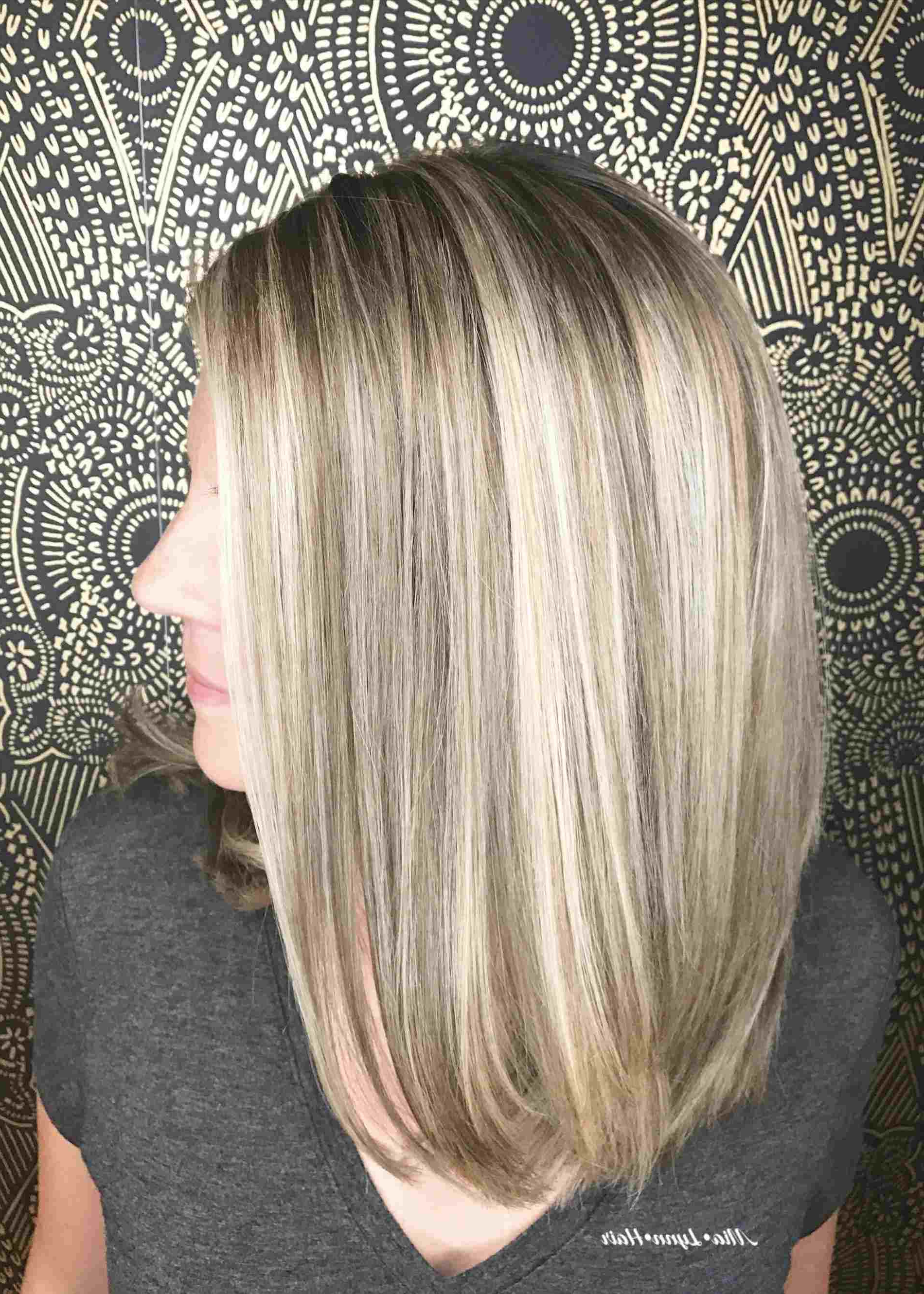 Babylights Foilayage Ash Rhpinterestcouk Blonde Bob Haircut With Within Angled Ash Blonde Haircuts (View 14 of 20)