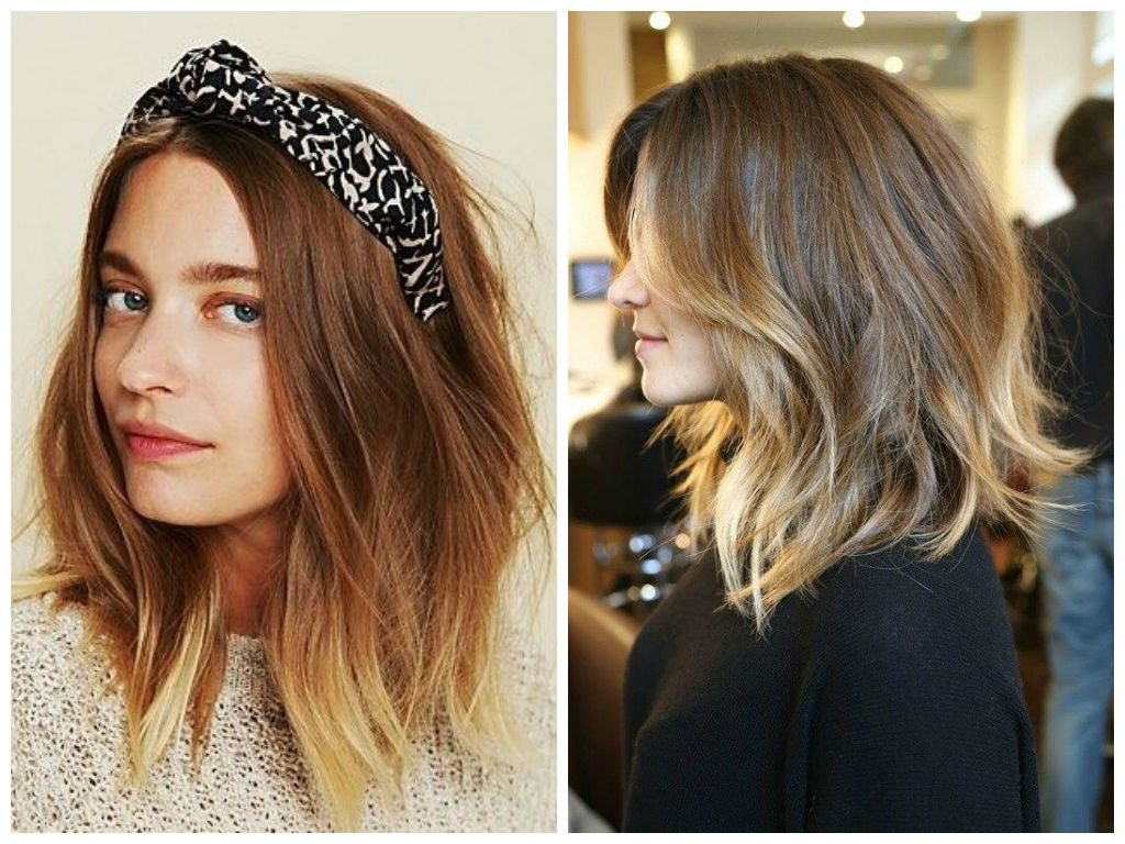 Balayage Highlights Ideas – Hair World Magazine With One Length Balayage Bob Hairstyles With Bangs (View 15 of 20)