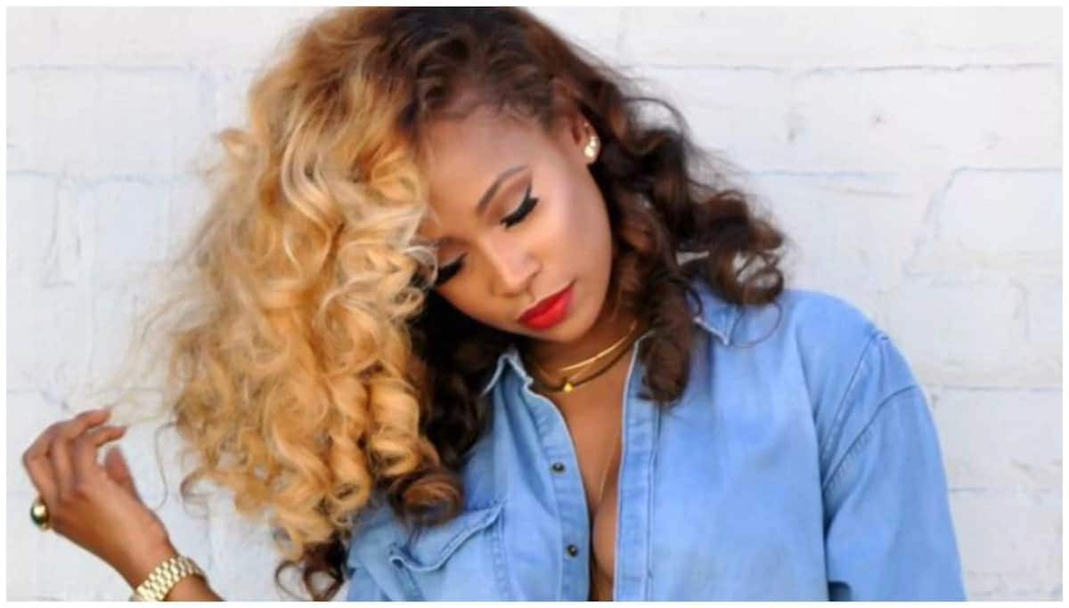 Blonde Hair On Black Women Hairstyles ▷ Tuko.co (View 8 of 20)
