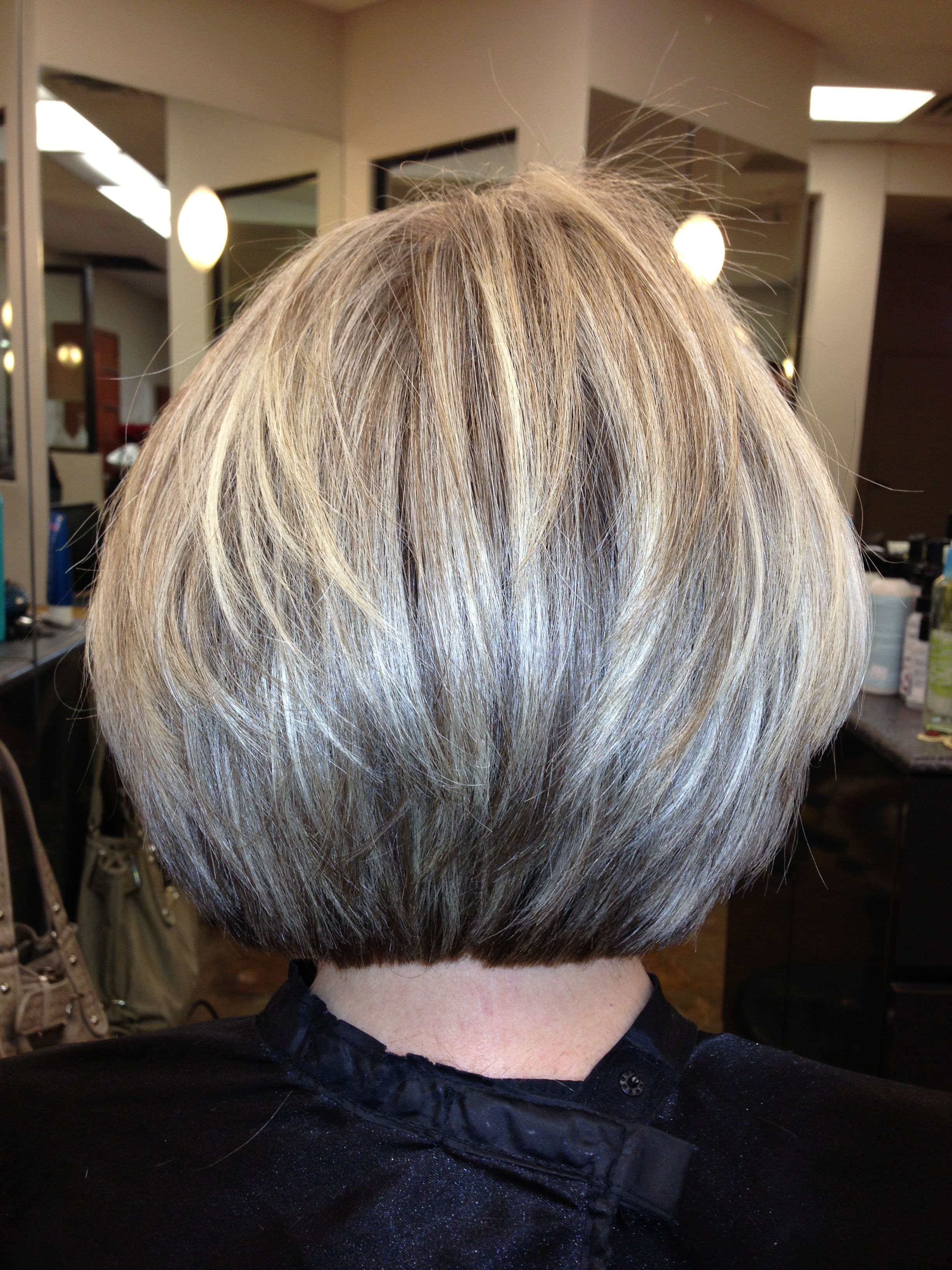 Blunt Yet Layered, Texturized Cut | Cool Hair Cuts!!!!!patricia Intended For Gray Bob Hairstyles With Delicate Layers (View 15 of 20)