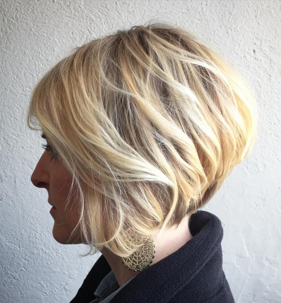 Bob Haircut | Haircuts For Fine Hair | Pinterest | Haircuts, Fine With Short Wispy Hairstyles For Fine Locks (View 3 of 20)