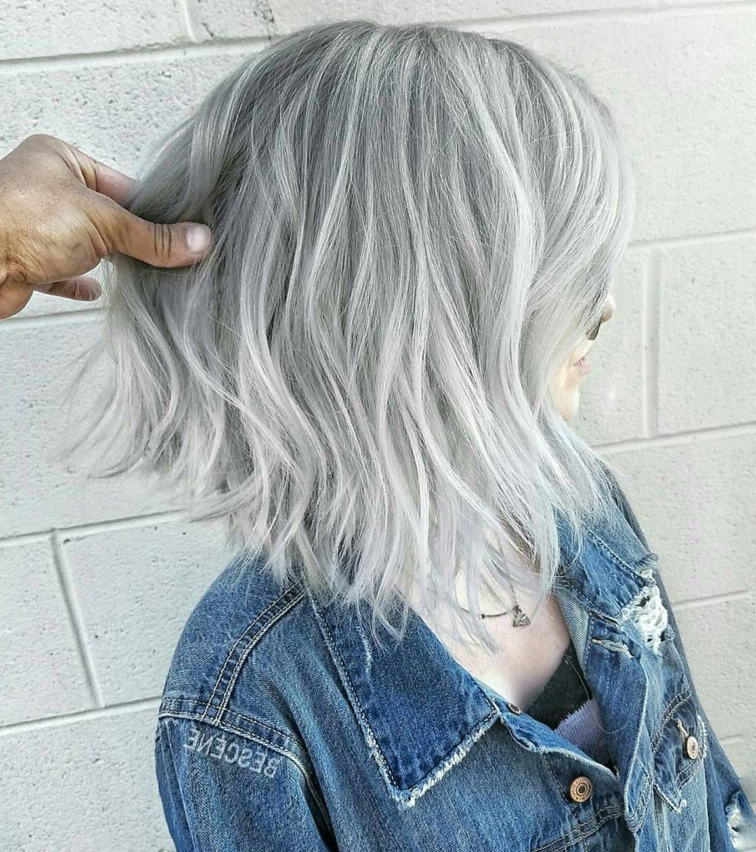 """Bones (@bonesspanekk): """"i'm A Silver Fox Now!!! """" 