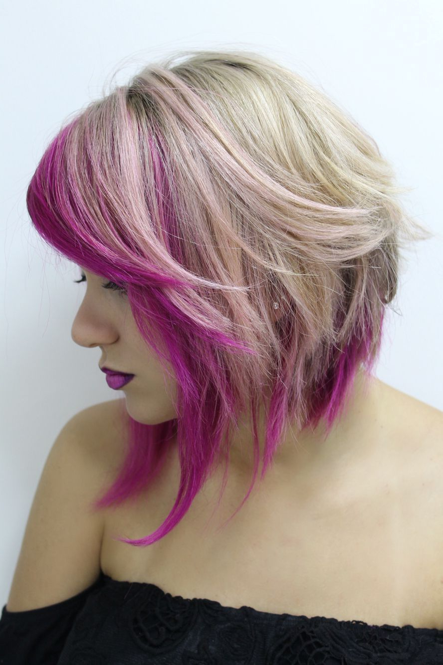 Cabelo #cabelocurto #cabeloscurtos #cabeloscurtosdivos #shorthair For Short Messy Lilac Hairstyles (View 9 of 20)