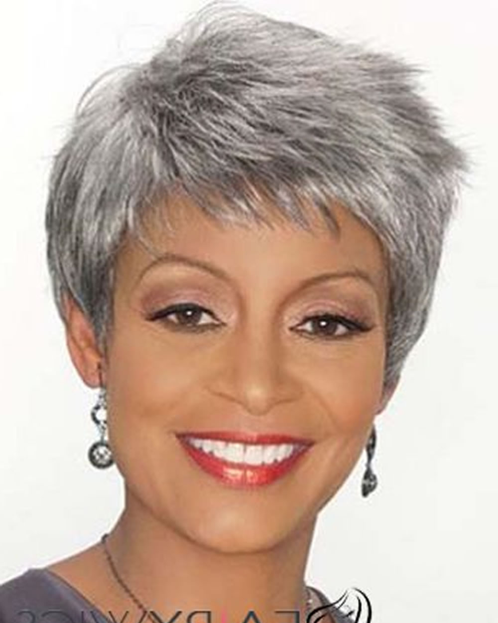 Extra Short Hairstyles & Pixie Haircuts For Afro American Older With Regard To Pixie Hairstyles For Women Over (View 12 of 20)
