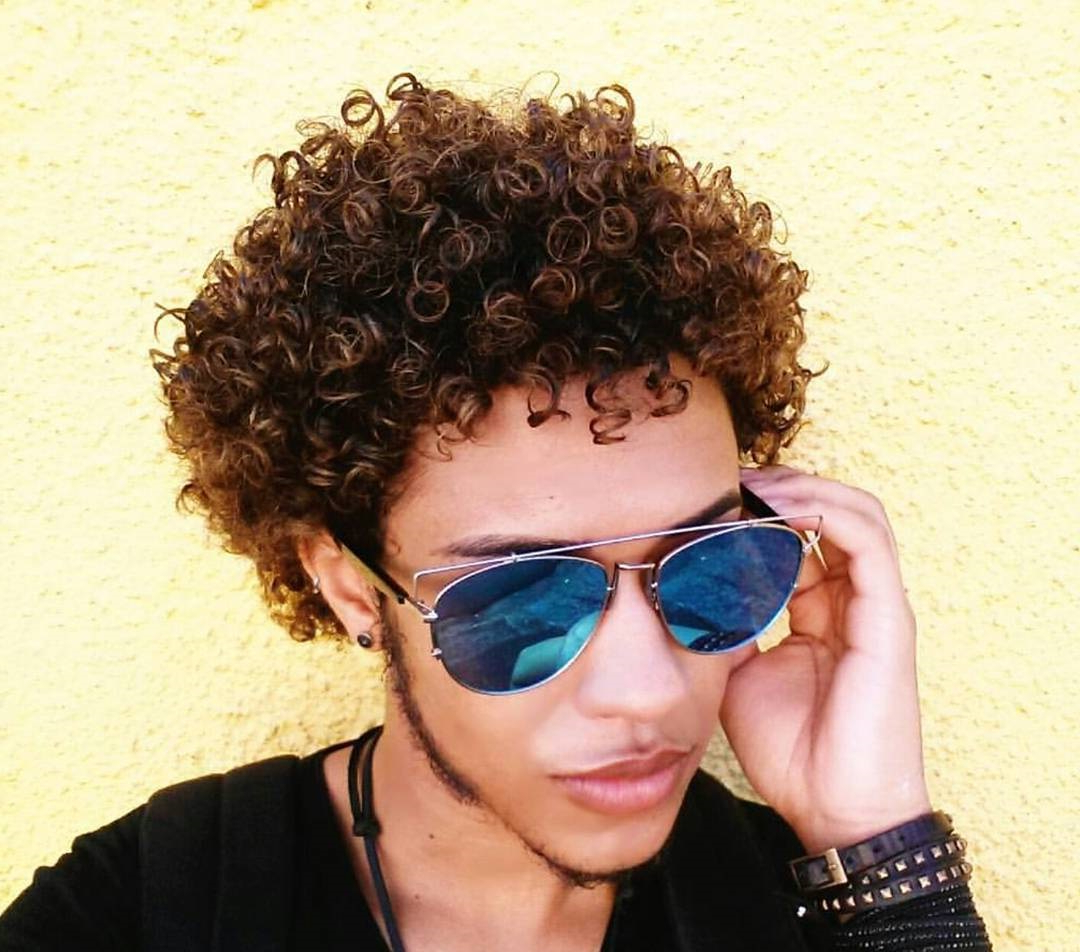 Guide For Men: Short Curly Hairstyles Regarding Short Curly Hairstyles (View 11 of 20)