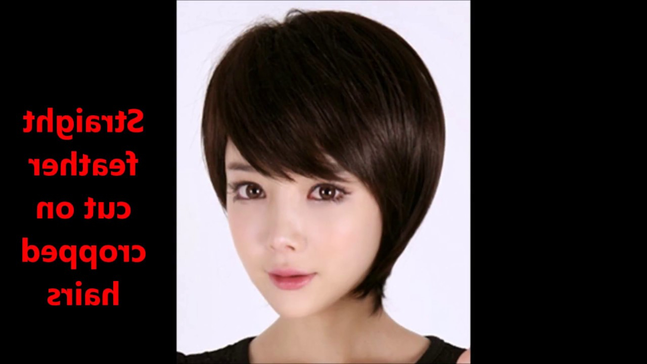 Haircuts Name With Pics||feather Cut Hairstyles For Short Hairs Regarding Feathered Back Swept Crop Hairstyles (View 18 of 20)