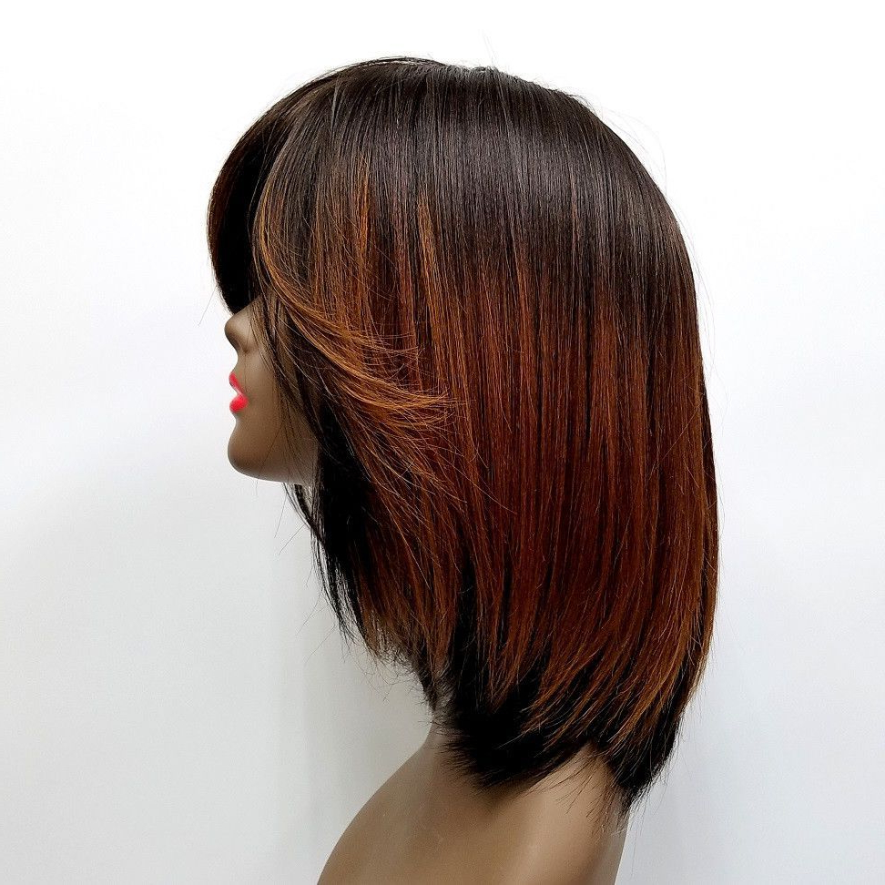 Handmade Cap Wig – Hh Diva | Products | Pinterest | 100 Human Hair In Soft Auburn Look Hairstyles (View 18 of 20)