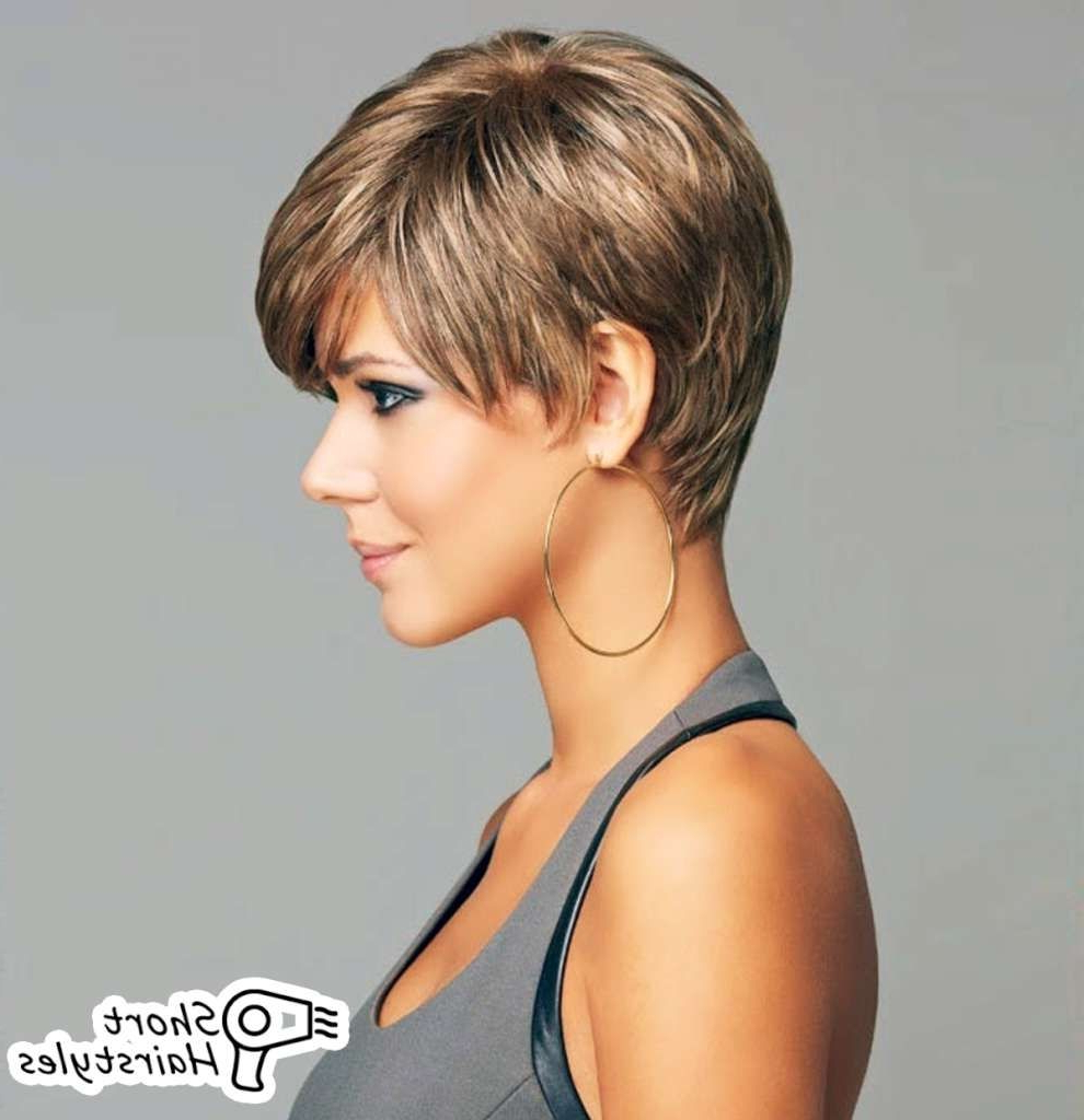 Image Result For Short Haircuts For Women Over 50 Back View Hair For Throughout Pixie Hairstyles For Women Over  (View 13 of 20)