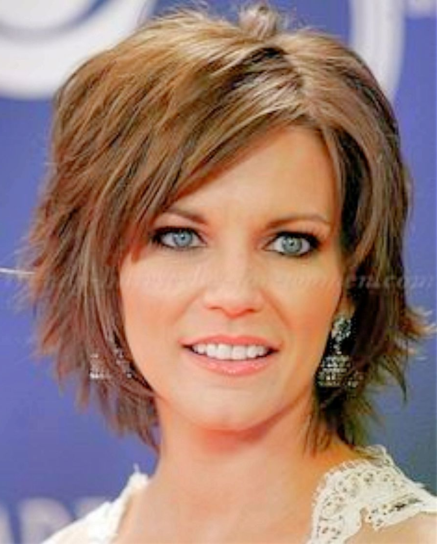 Image Result For Short Hairstyles For Women Over 50 With Fine Hair Regarding Bouncy Bob Hairstyles For Women 50+ (Gallery 11 of 20)