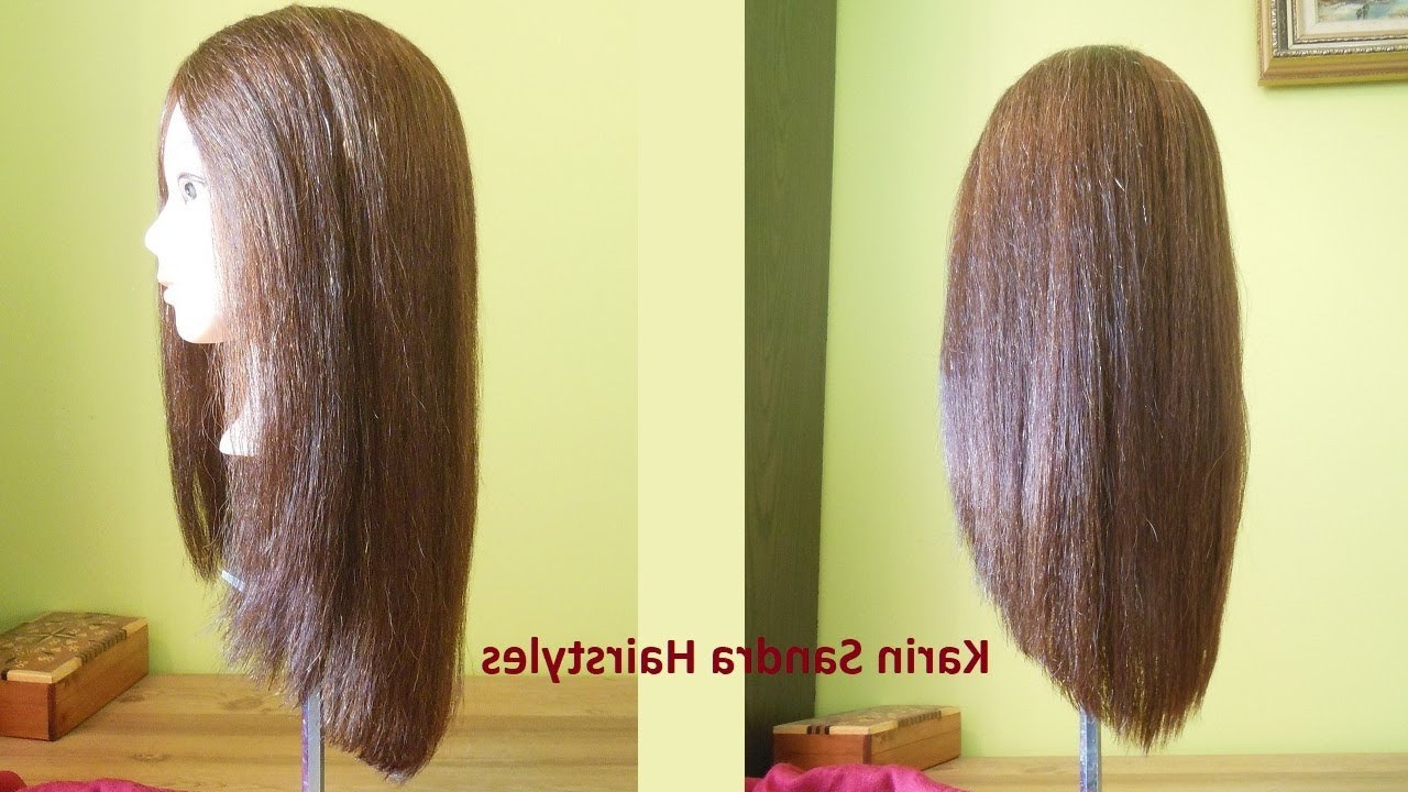 Long V Haircut Without Layers | Long V Shaped Haircut | Long Haircut With Short Bob Hairstyles With Long V Cut Layers (View 13 of 20)
