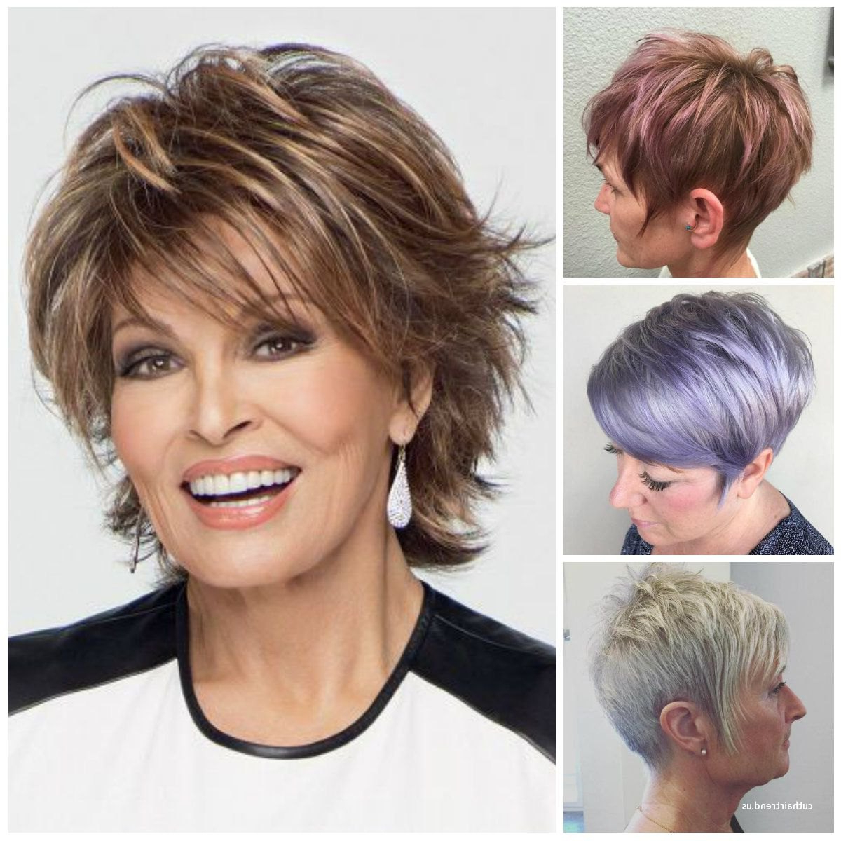 Luxury Mature Short Hairstyles Within Mature Short Layered Haircuts (Gallery 3 of 20)