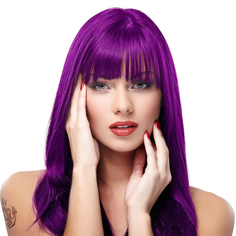 Manic Panic High Voltage Classic Cream Formula Purple Haze Colour Intended For Purple Haze Hairstyles (View 11 of 20)