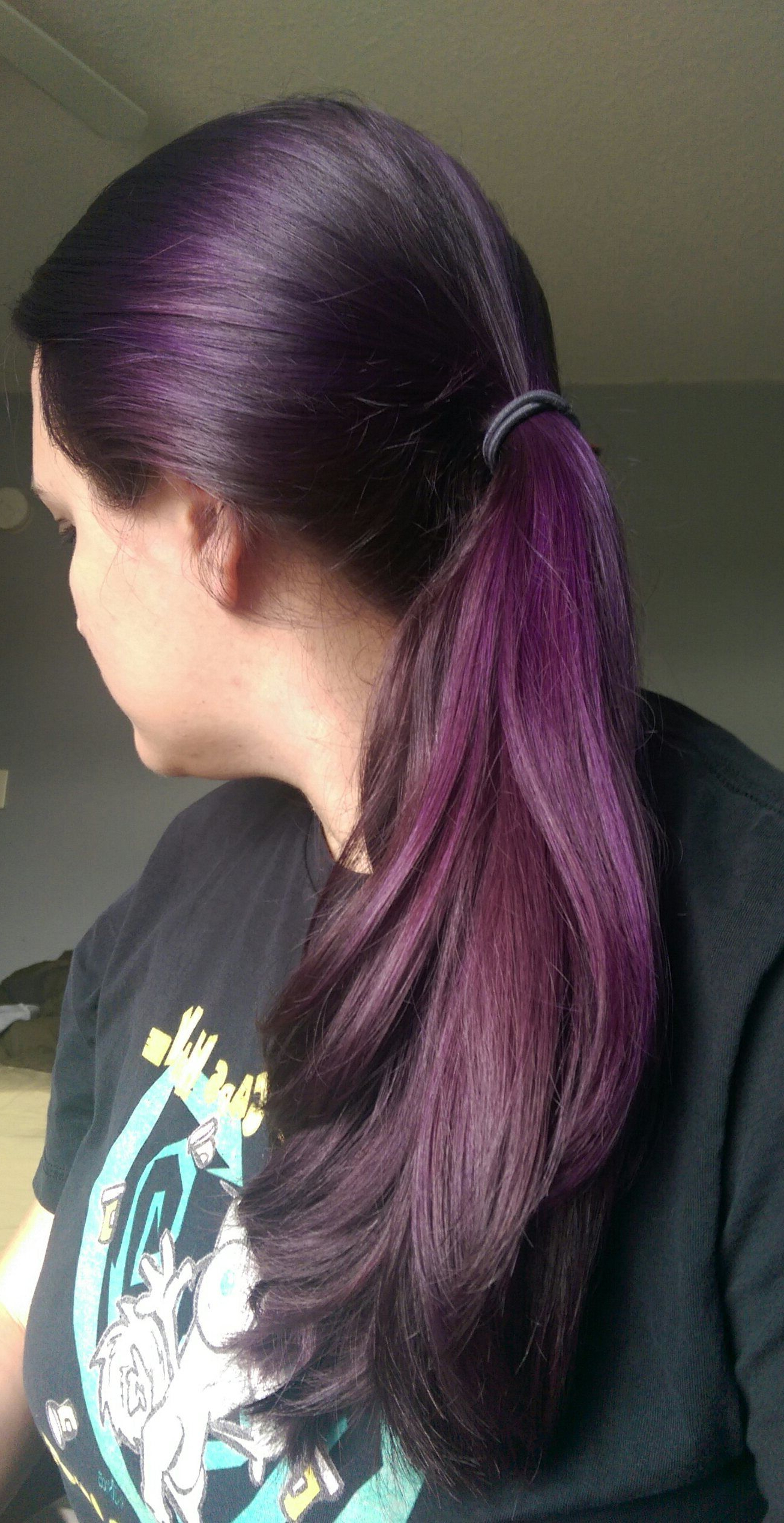 Manic Panic's Purple Haze | Crazy Awesome Hair In 2018 | Pinterest Pertaining To Purple Haze Hairstyles (View 5 of 20)