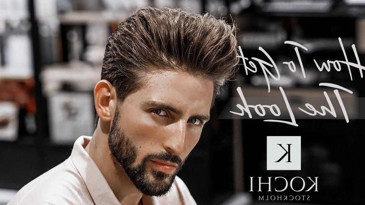 Men's Classic – Voluminous Hairstyle Tutorial & Men's Hairstyle #new For Oluminous Classic Haircuts (View 15 of 20)