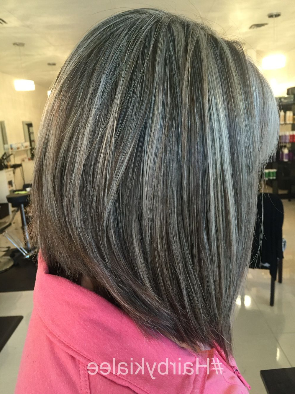 Featured Photo of Gray Hairstyles With High Layers