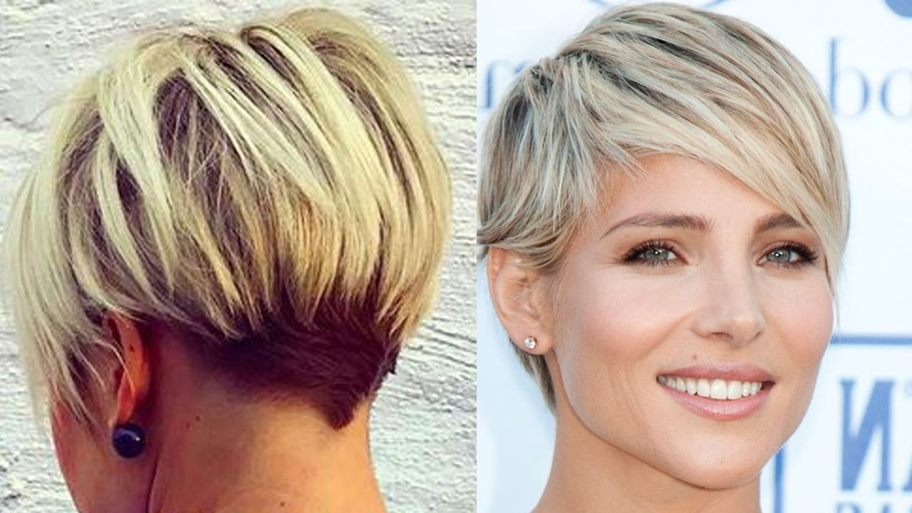 New Blonde Short Haircuts – Modern Short Cut (Blonde Hair Women Inside Blonde Pixie Haircuts For Women 50+ (View 15 of 20)