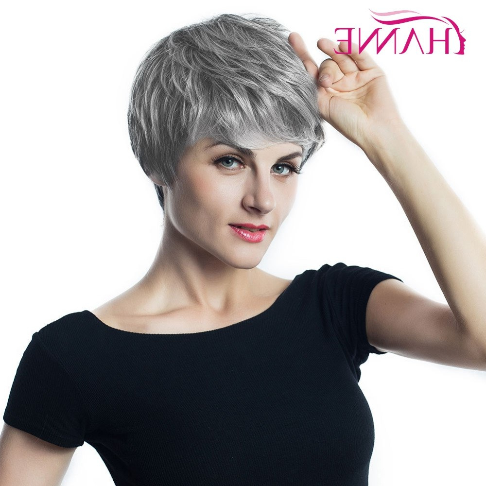 Online Buy Wholesale Haircuts For Gray Hair From China Haircuts For With Regard To Gray Hairstyles With High Layers (Gallery 19 of 20)