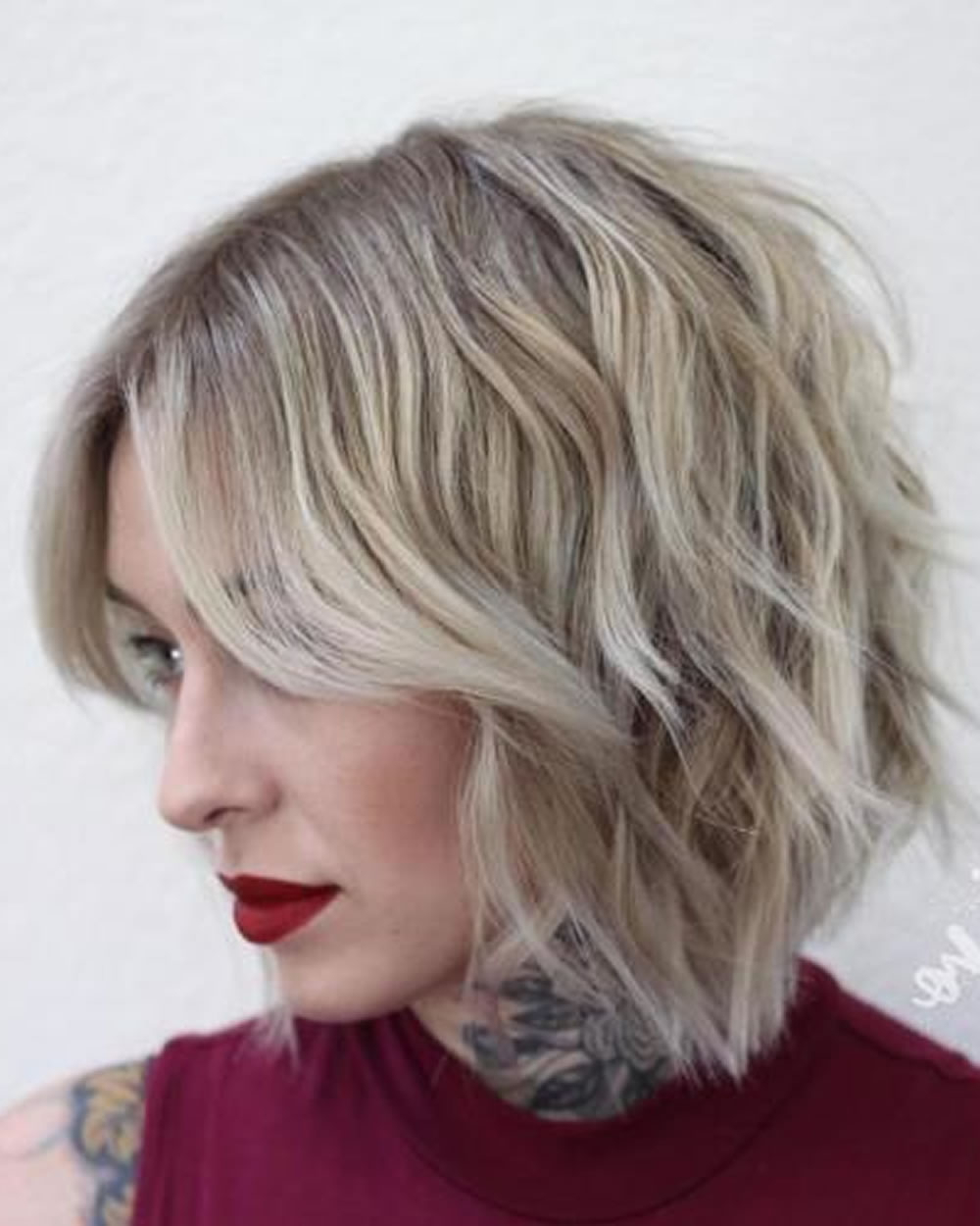 Overwhelming Short Choppy Haircuts For 2018 2019 (Bob+Pixie Hair Inside Short Choppy Hairstyles For Thick Hair (View 12 of 20)