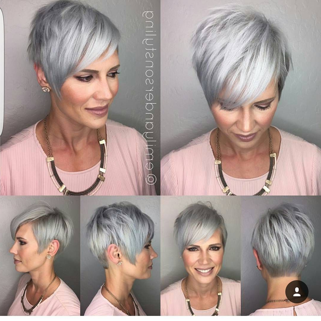 Pinlinda Grayson On Messy Pixie Haircut In 2018 | Hair, Hair Pertaining To Black Choppy Pixie Hairstyles With Red Bangs (View 11 of 20)