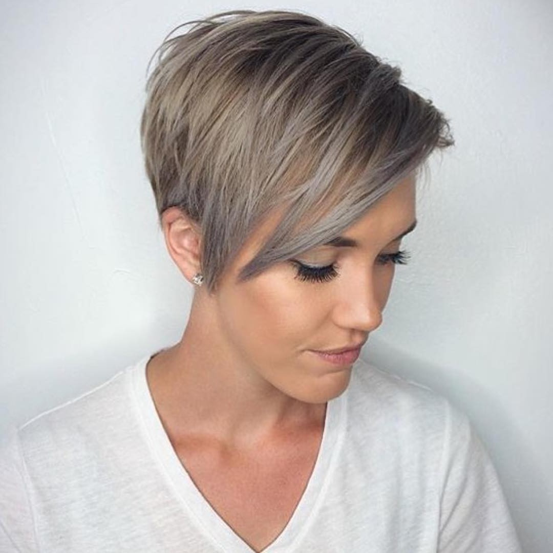Pixie Cut For Fine Hair Archives • Inspectioncompany With Silver Pixie Hairstyles For Fine Hair (View 15 of 20)