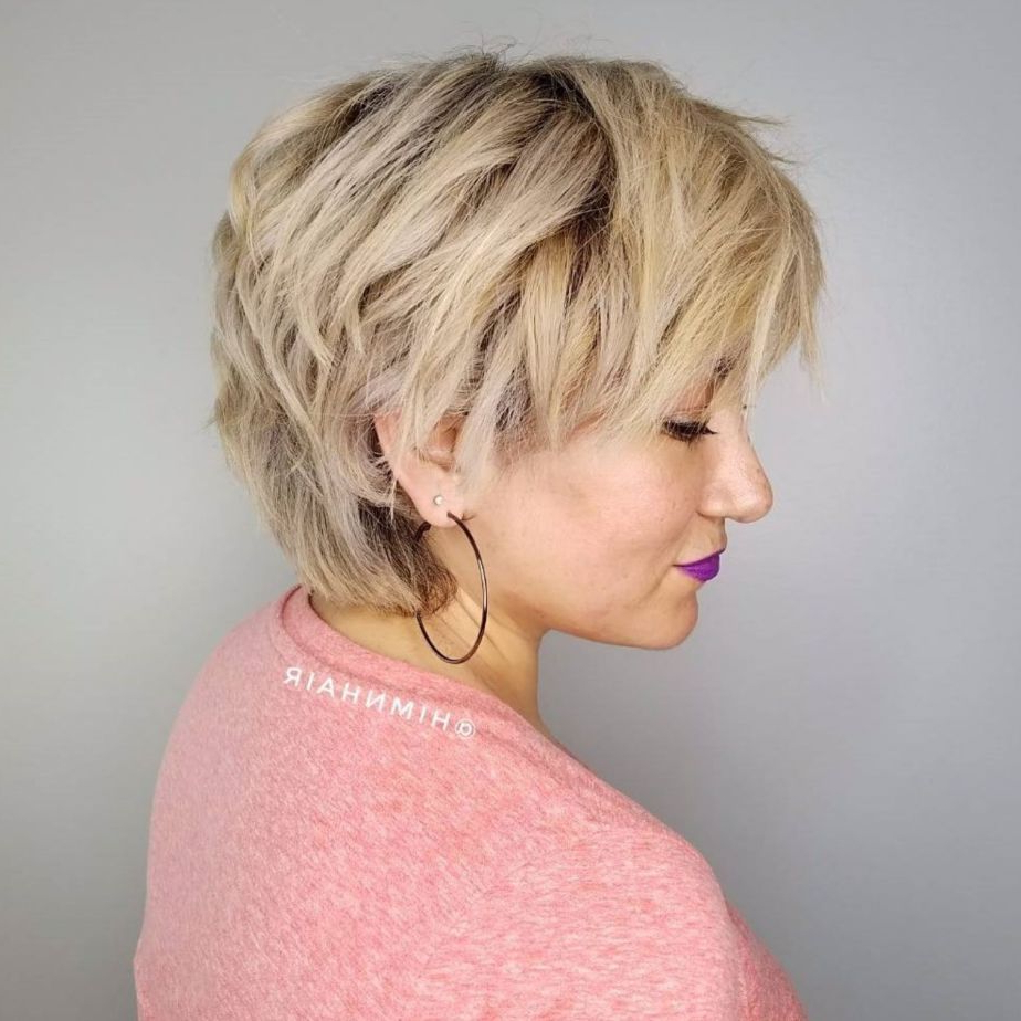 Pixie Haircuts For Thick Hair – 50 Ideas Of Ideal Short Haircuts For Over 50 Pixie Hairstyles With Lots Of Piece Y Layers (View 6 of 20)
