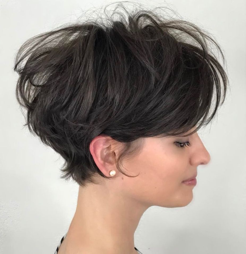 Pixie Haircuts For Thick Hair – 50 Ideas Of Ideal Short Haircuts In With Gray Pixie Hairstyles For Thick Hair (View 16 of 20)