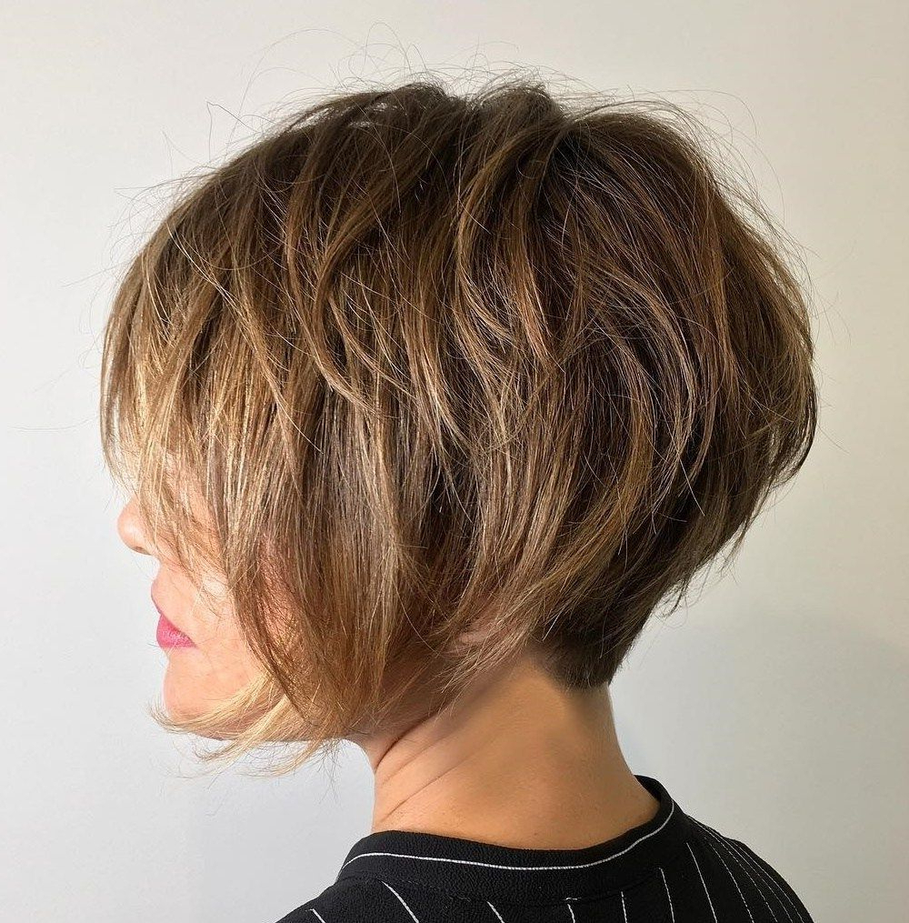 Pixie Haircuts For Thick Hair – 50 Ideas Of Ideal Short Haircuts Pertaining To Over 50 Pixie Hairstyles With Lots Of Piece Y Layers (View 3 of 20)