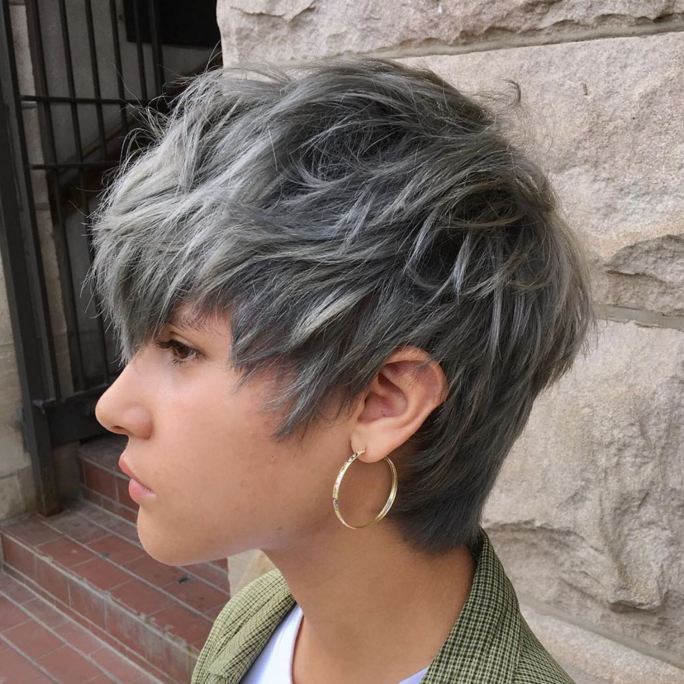 Pixie Haircuts For Thick Hair – 50 Ideas Of Ideal Short Haircuts With Gray Pixie Hairstyles For Thick Hair (View 17 of 20)