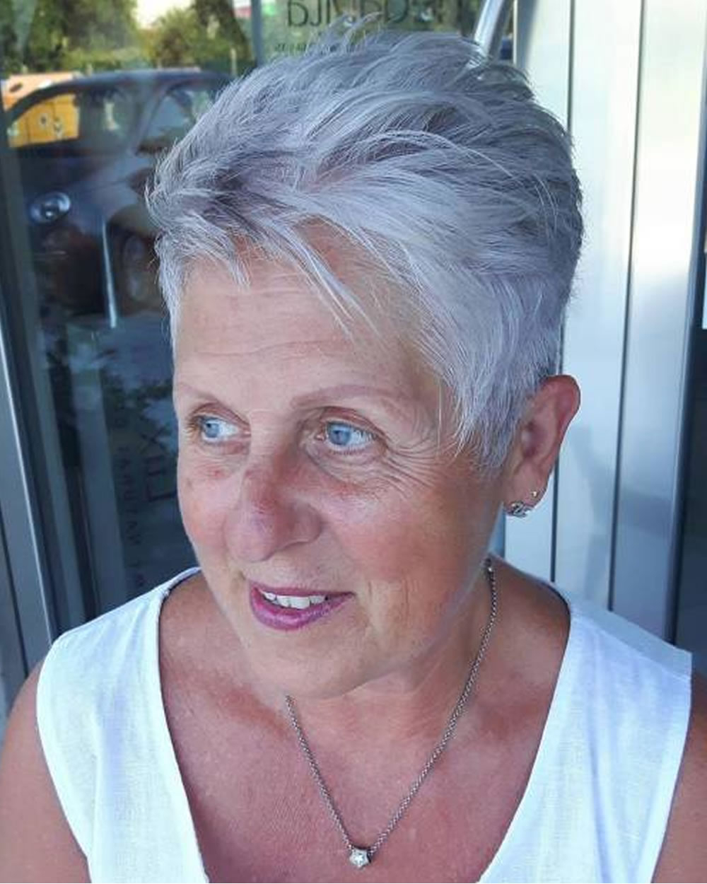 Pixie Short Haircuts For Older Women Over 50 & 2018 2019 Short Within Pixie Undercut Hairstyles For Women Over (View 18 of 20)