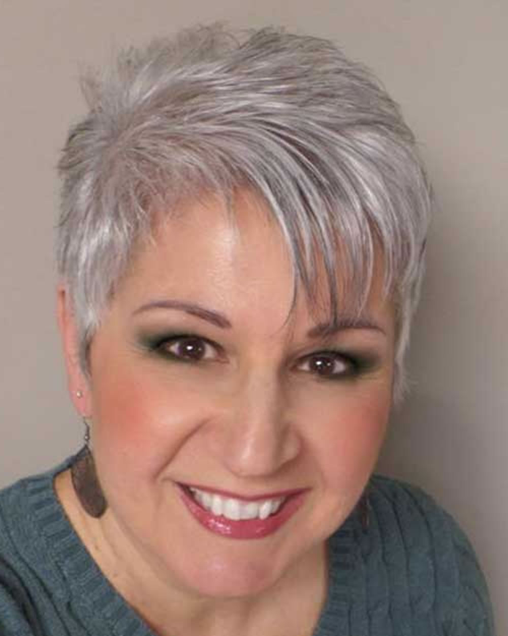 Pixie Short Haircuts For Older Women Over 50 & 2018 2019 Short Within Pixie Undercut Hairstyles For Women Over (View 17 of 20)