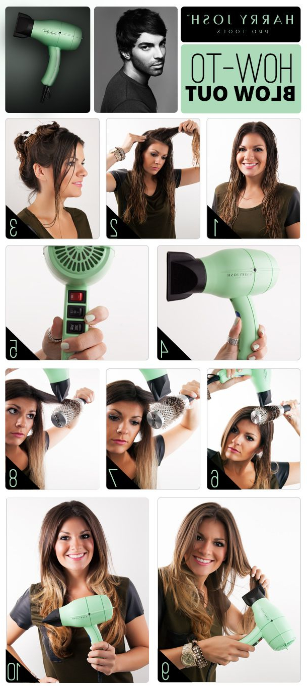 Pretty Blowout Hair Tutorials You Won't Miss – Pretty Designs With Regard To Perfect Blow Out Hairstyles (View 10 of 20)