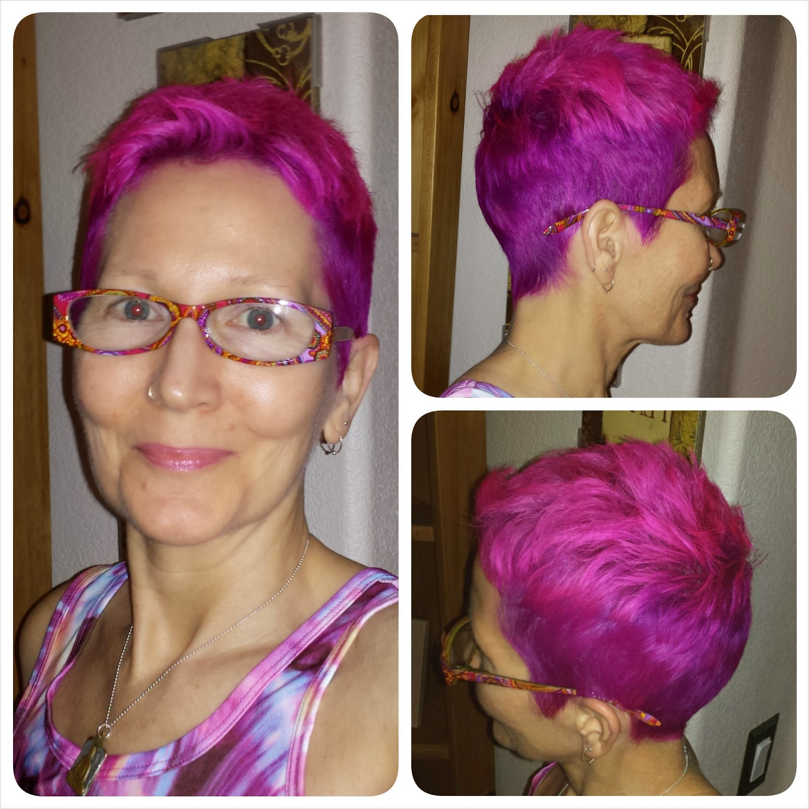 Rocki's Rock'n Blog: Manic Panic Featured Me On Facebook! Pink And In Purple Haze Hairstyles (View 6 of 20)