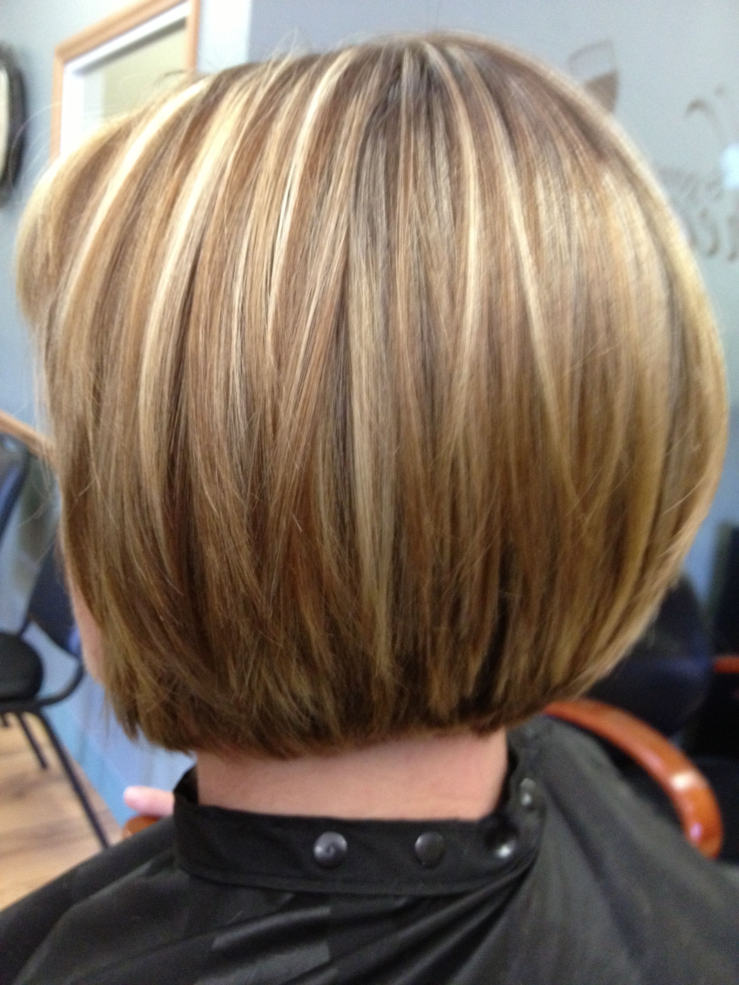 Round Bob | All Things Hair | Pinterest | Hair Styles, Bob Throughout Rounded Bob Hairstyles With Stacked Nape (View 2 of 20)