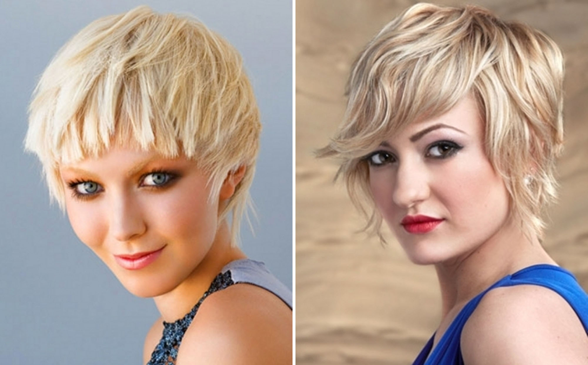 Short Choppy Messy Hairstyles – Hairstyle For Women & Man For Choppy Blonde Pixie Hairstyles With Long Side Bangs (View 14 of 20)