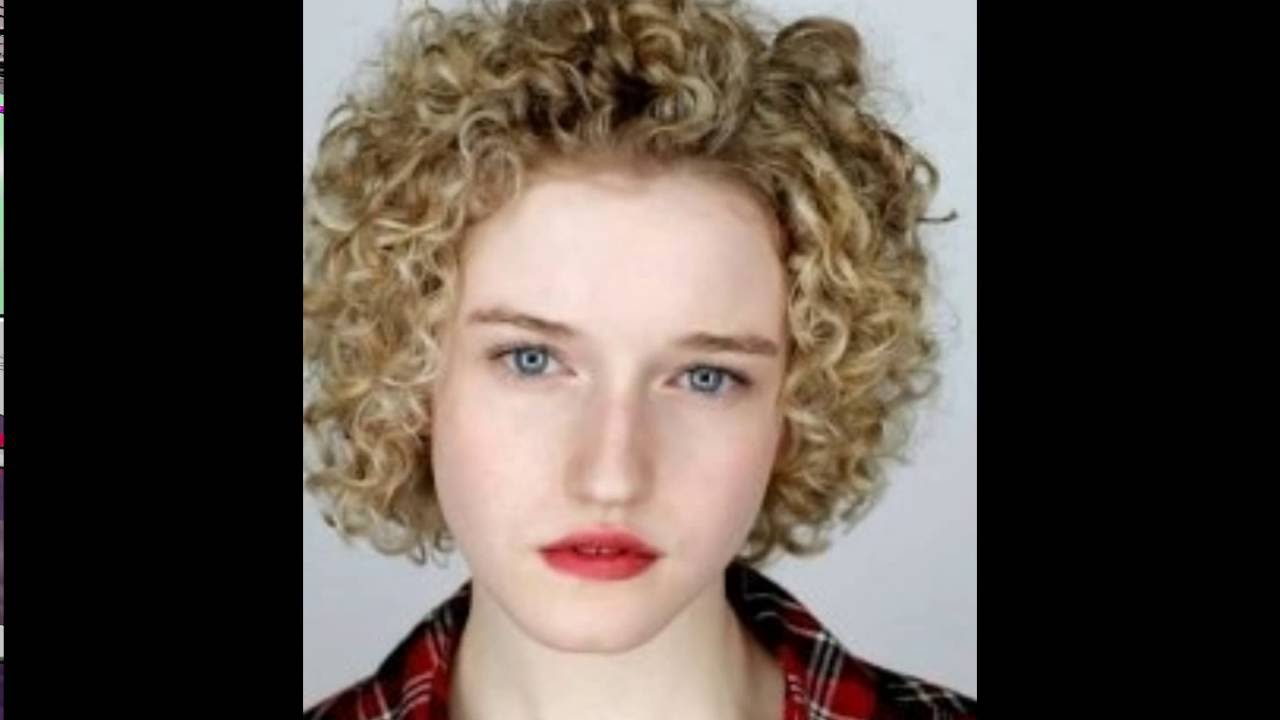 Short Curly Hairstyles For Round Faces । Curly Hairstyles For Short With Regard To Short Curly Hairstyles (View 17 of 20)