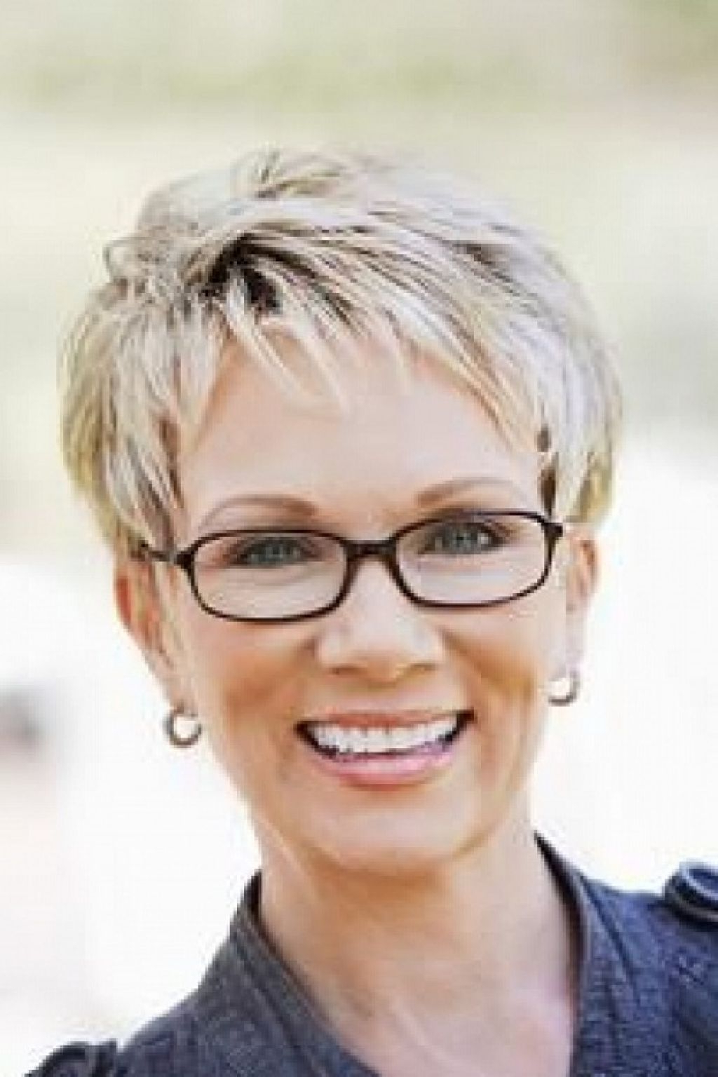 Short Gray Hairstyles For Women | Pictures Gallery Of Picture Of Pertaining To Gray Pixie Hairstyles For Over (View 2 of 20)